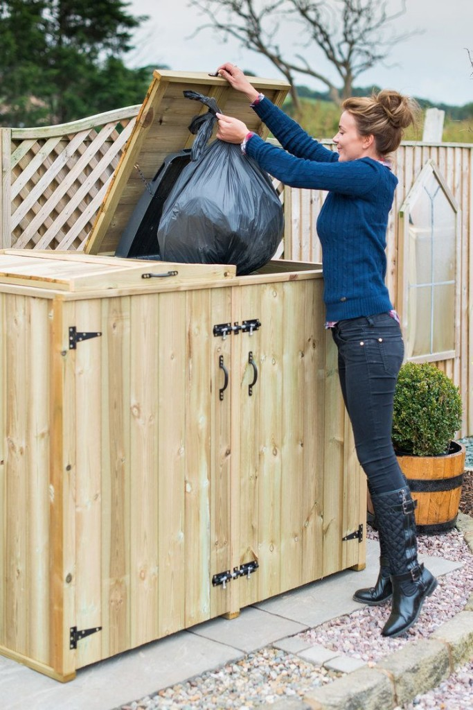 Double Bin Storage Easy To Use