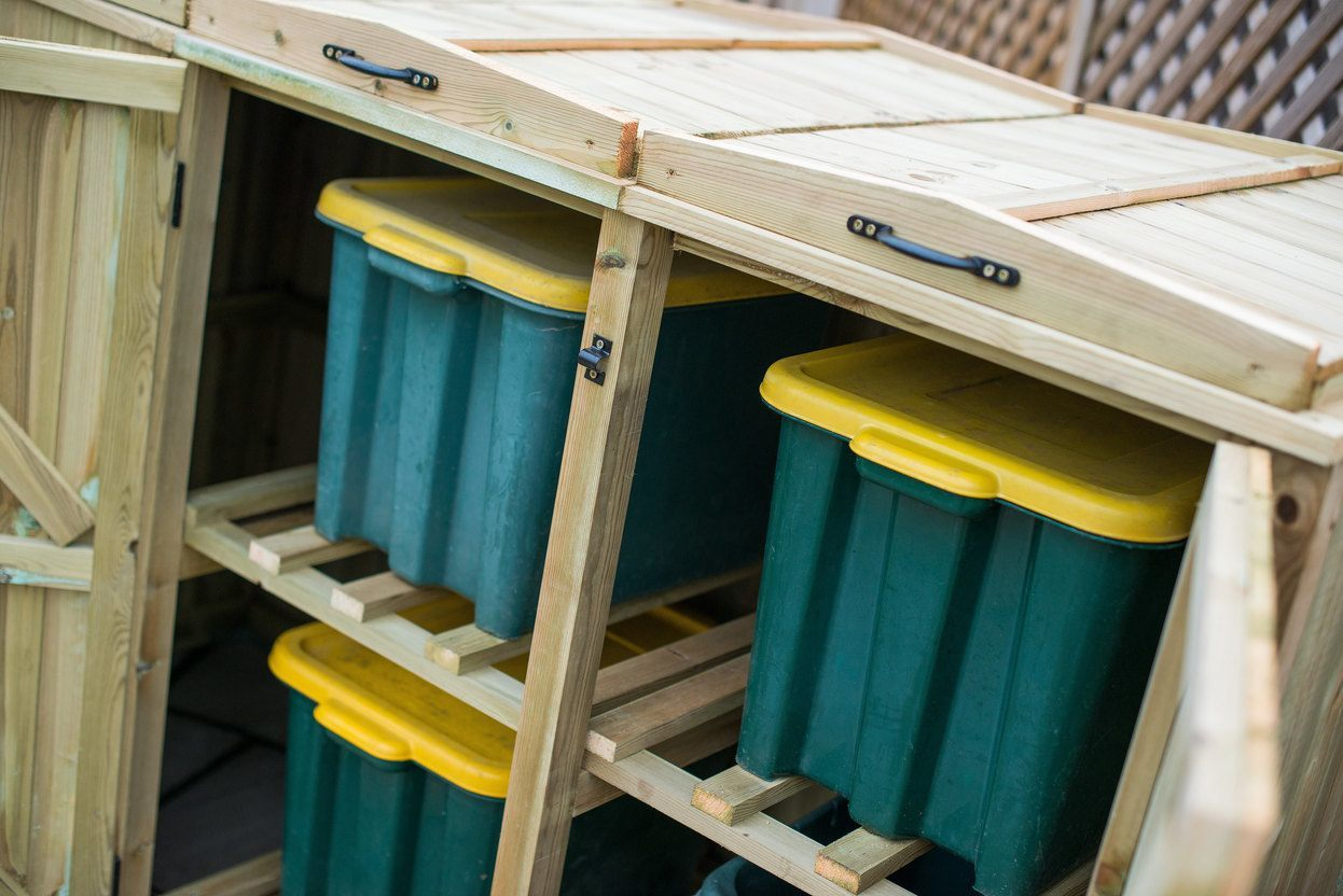 4 Recycle Box Storage