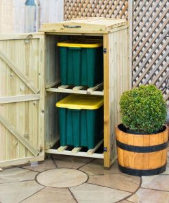 Recycling Box Storage Unit