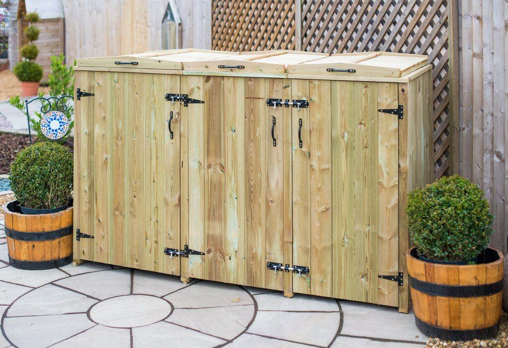 Single Bin 4 Recycle Box Storage