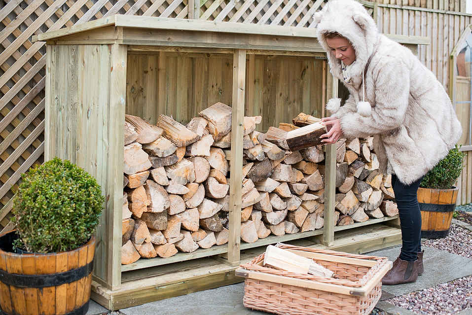 Merveilleux High Quality Log Storage