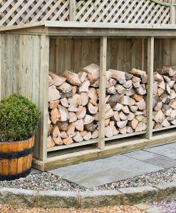 Triple Log Storage Unit