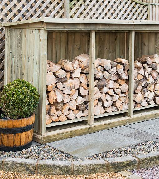 Triple Log Storage Unit