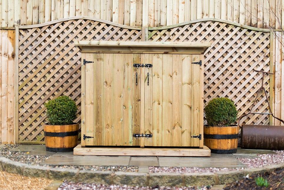Utilis Double Garden Storage Chest
