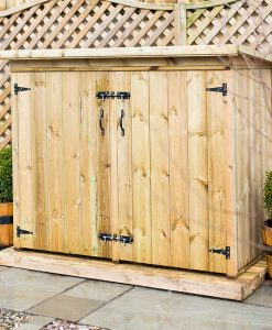 Utilis Garden Storage Chest Double Door