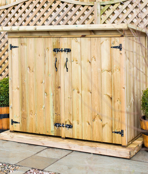 Utilis Garden Storage Chest Double Door