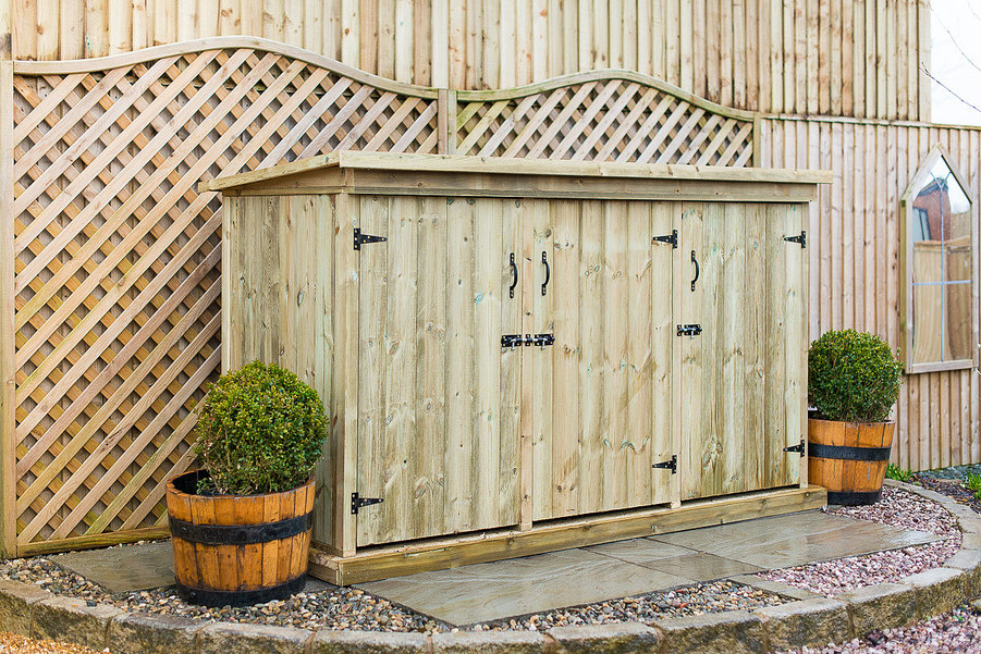 Utilis Triple Garden Storage Unit