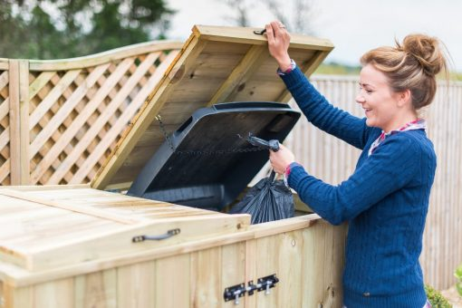 Bellus Quad Wheelie Bin Storage