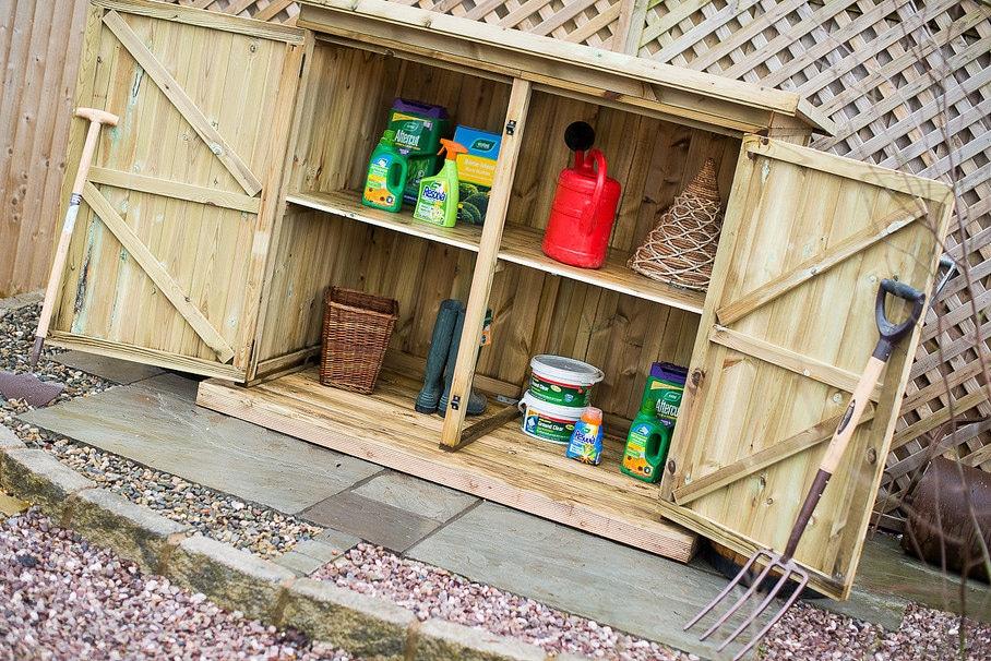 The Best Garden Storage Boxes For, Wooden Garden Storage Box Uk